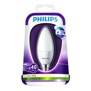 Ampoule PHILIPS LED flamme 40W E14 WW 23 PHILIPS