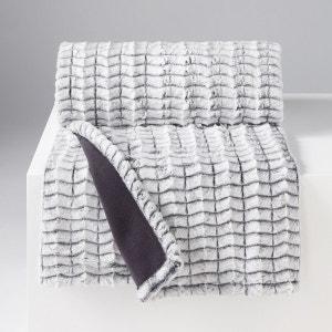 plaid plaid de canap fourrure la redoute. Black Bedroom Furniture Sets. Home Design Ideas