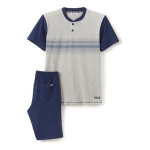 Piżama z krótkimi spodenkami FILA