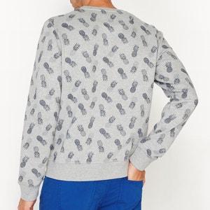 Sweatshirt mit Rundhals, bedruckt La Redoute Collections