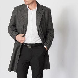 Manteau ¾ en tweed motif chevron CASTALUNA FOR MEN