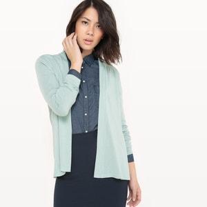 Sweter rozpinany z długim rękawem R essentiel
