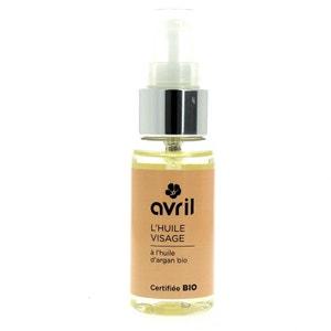 Huile Visage à l'huile D'argan Avril Beauté Certifié Bio AVRIL