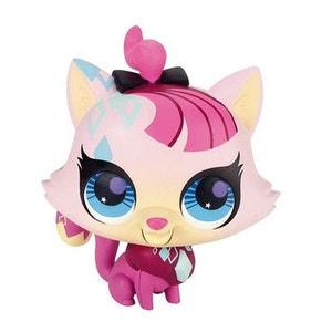 Figurine Petshop chanteur  :  Chat LITTLE PETSHOP