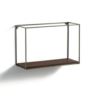 Étagère horizontale métal/noyer, Oshota AM.PM.