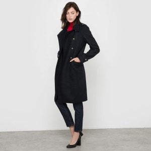 Manteau militaire, 55% laine R essentiel