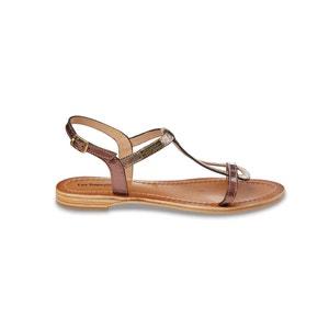 Hamat Flat Leather Strappy Sandals LES TROPEZIENNES PAR M.BELARBI