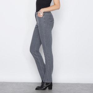 Embroidered Stretch Denim Jeans ANNE WEYBURN
