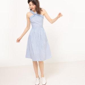 Plain Short Sleeveless Dress MADEMOISELLE R