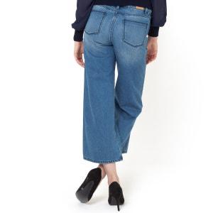 Cotton Denim 7/8 Length Culottes R studio