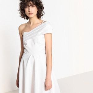 Robe de mariée épaule dénudée, nœud dos MADEMOISELLE R