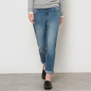 Boyfit-Jeans, Stretch, Hüftbund R essentiel