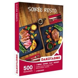 Soirée resto - Coffret Cadeau DAKOTABOX