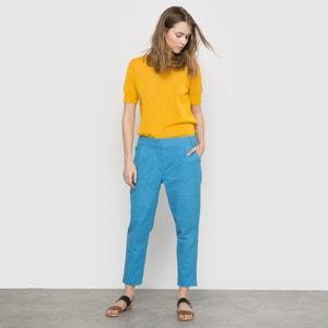Pantalon 7/8 ème brodé MADEMOISELLE R
