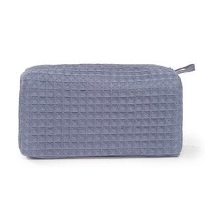 SCENARIO Honeycomb Cotton Toiletry Bag