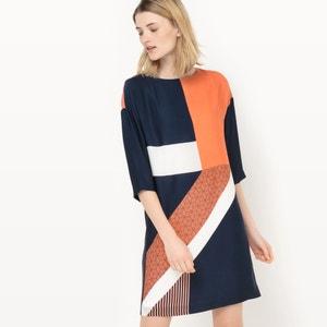 Bedrukte jurk atelier R