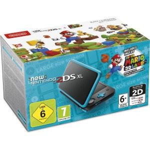 New Nintendo 2DS XL Console Black + Turquoise + Super Mario 3D Land 3DS NINTENDO
