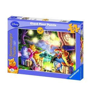 Puzzle 24 pièces géant - Winnie l'Ourson : Feu de camp RAVENSBURGER