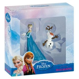 Coffret 2 Figurines Elsa Et Olaf - La Reine Des Neiges Disney - JURB13064 BULLYLAND