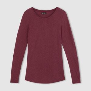 Camiseta de cuello redondo tencel/lana R essentiel