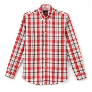 Camicia regular a quadri puro cotone R édition