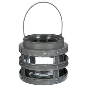 Photophore métal et verre H11cm PIER IMPORT