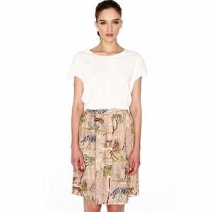 Safari Print Knee-Length Skirt PEPALOVES