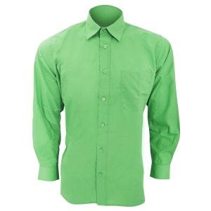 Baltimore chemise de travail en popeline à manches longues SOLS