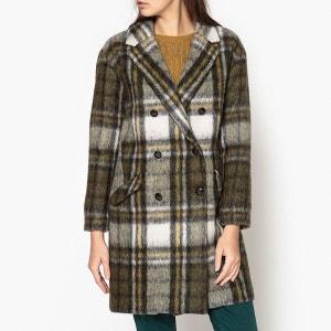Manteau Long à carreaux CLOCK BA&SH