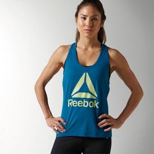 Reebok Logo Vest Top REEBOK