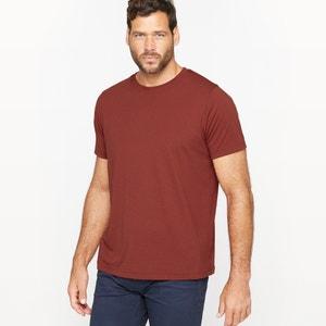 T-shirt col rond et manches courtes, pur coton CASTALUNA FOR MEN