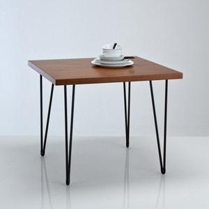 Mesa de refeições quadrada, estilo vintage, Watford La Redoute Interieurs