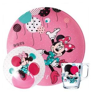 Service de vaisselle 3 pièces Minnie - Disney Party LUMINARC