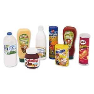 BABY-WALZ Set de denrées alimentaires épicerie enfant BABY-WALZ