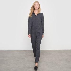 Spodnie-kombinezon we wzory atelier R