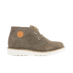 Desert Boots cuir MILKY DESERT SHOO POM