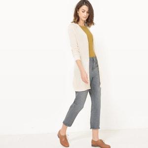 Półdługi sweter rozpinany La Redoute Collections