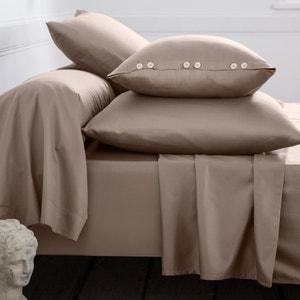 Plain Cotton Satin Bolster Cases La Redoute Interieurs image