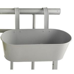 Jardinière pour balcon en métal ESSCHERT DESIGN