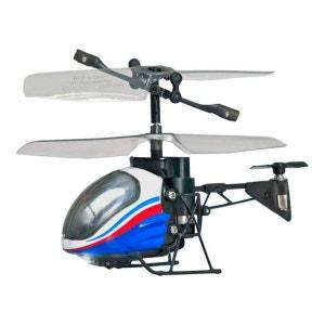 Hélicoptère radiocommandé infra-rouge Power in Air :  Nano falcon bleu SILVERLIT