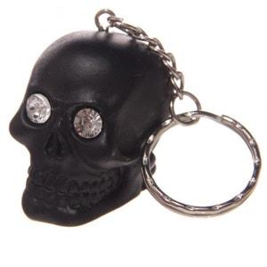 Porte-clef Crâne noir ABYSSE CORP