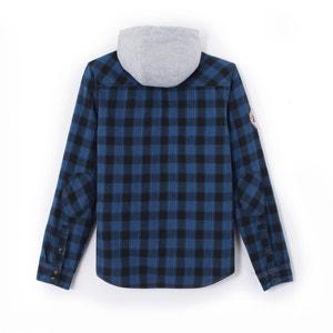 Chemise à carreaux et à capuche 10-16 ans KAPORAL 5