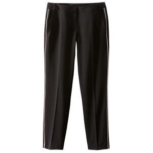 Spodnie proste z poliestru atelier R