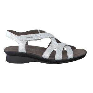 Sandales PARCELA blanc pailleté MEPHISTO