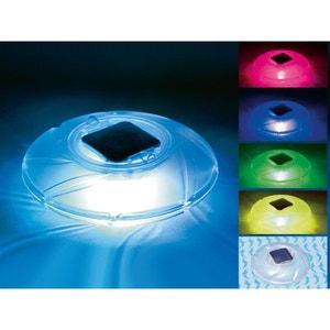 Lampe solaire flottante - Lumières LED multicolores alternées HABITAT ET JARDIN