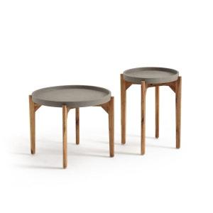 Table basse ronde BANDIATTO (lot de 2) La Redoute Interieurs