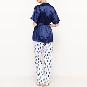 3-delige pyjama in satijn La Redoute Collections