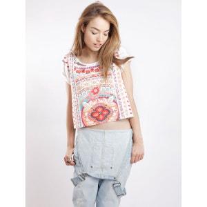 T-shirt à manches courtes Kombi Love T. Imprimé fleuri MINKPINK
