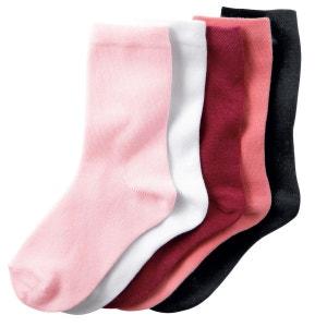 Paires mi-chaussettes (lot de 5) La Redoute Collections