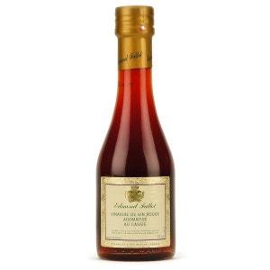 Vinaigre de vin rouge aromatisé au cassis - Bouteille verre 250ml ETABLISSEMENTS FALLOT